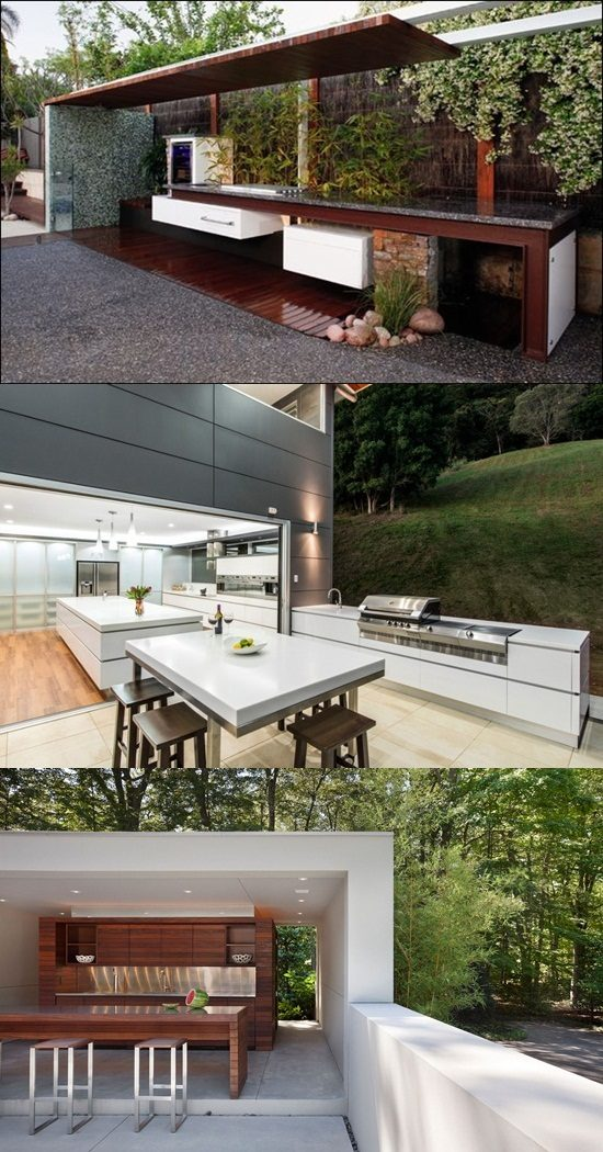 Modern Outdoor Kitchen Design