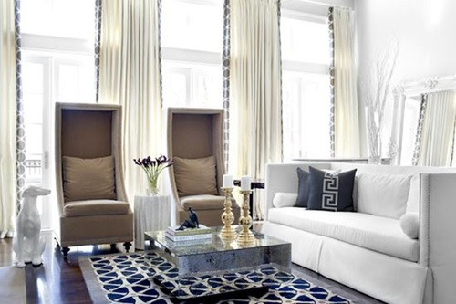 Modern and Stylish Window Treatments for your Living Room