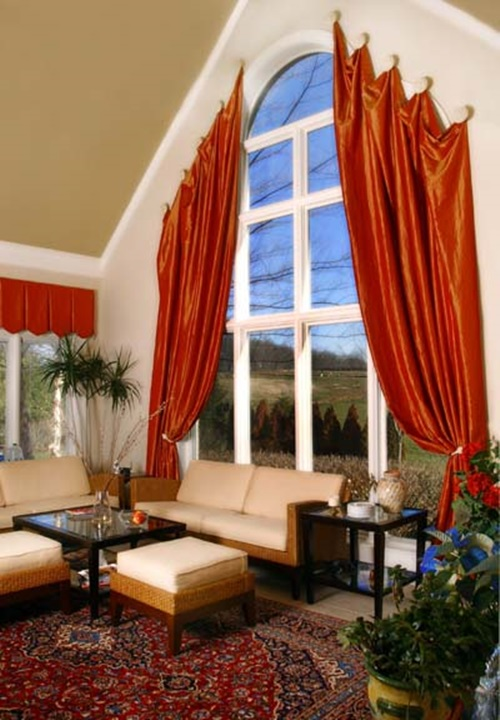 Modern and Stylish Window Treatments for your Living Room 4