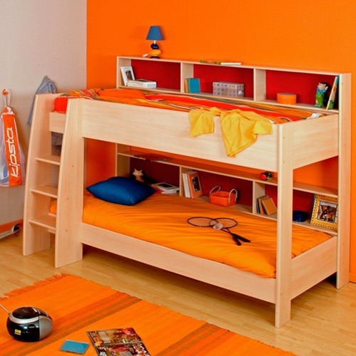 Multifunctional bunk beds for kids room