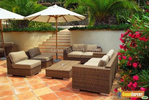 Outdoor furniture best materials – Teak, Aluminum, Wicker