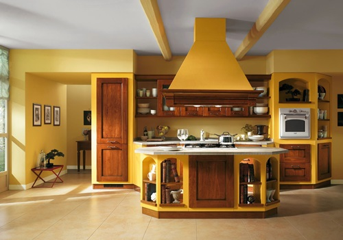 Pretty modern colors for your kitchen cabinet