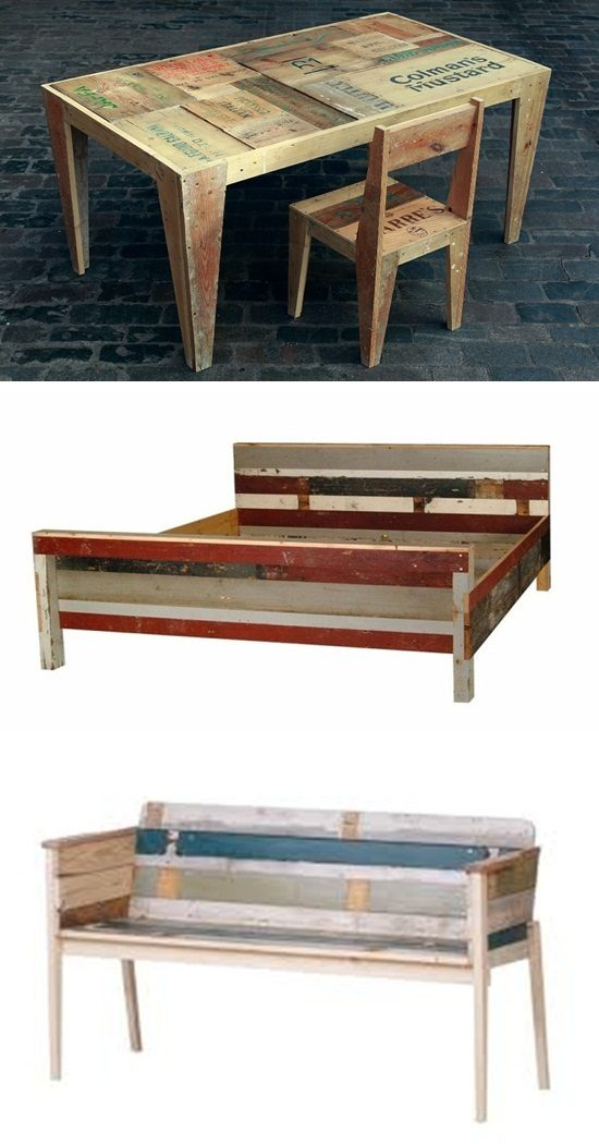 Sensational Scrapwood Furniture