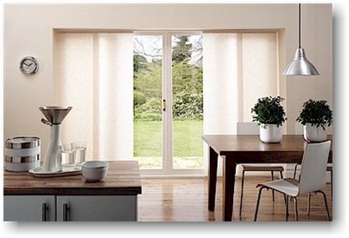 Sliding Panel Window Treatment