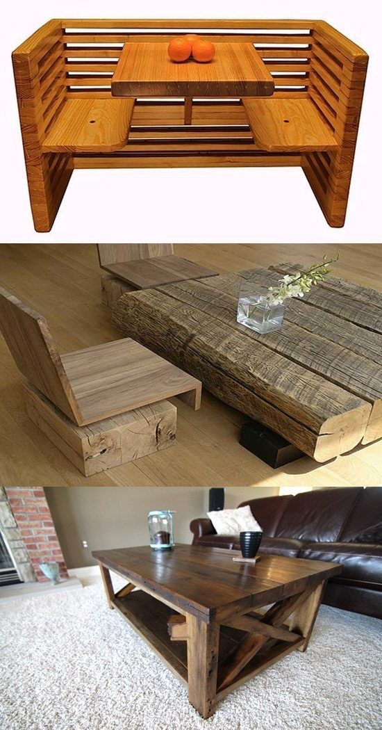 The Recycled Wooden Furniture