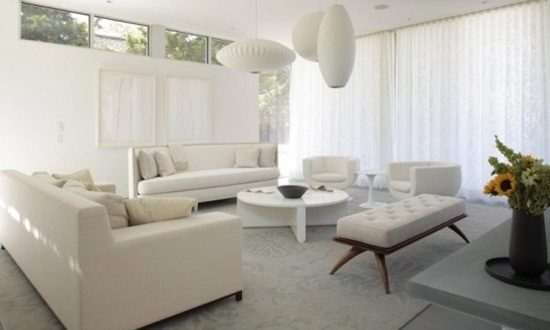 White Living Room Accessories