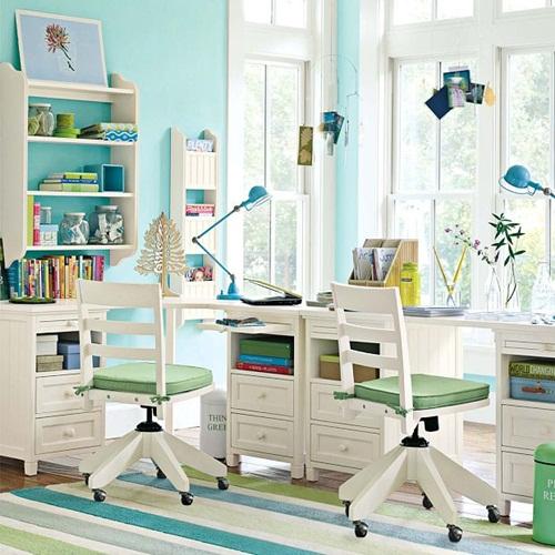 A Feng Shui study room