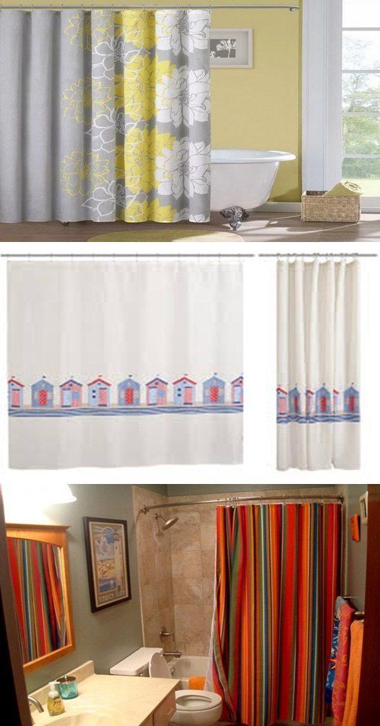 Bathroom Curtains Cute Shower