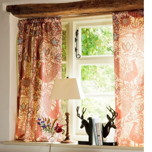 Country Cottage Kitchen Curtains