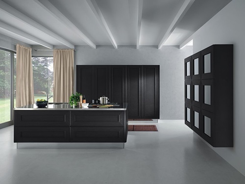 Common Kitchen Design Mistakes Overlooking Fillers And Panels: Black And White Kitchens