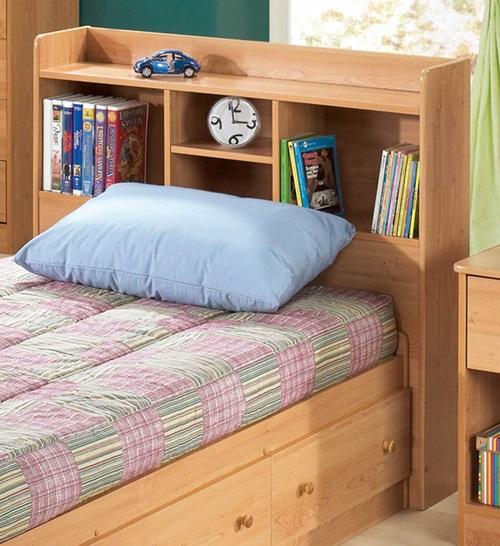 Creative Headboard Bookcases - shelves