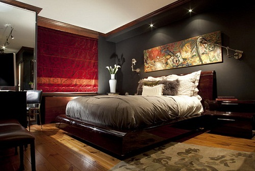 Dark Furniture for a Dramatic Look