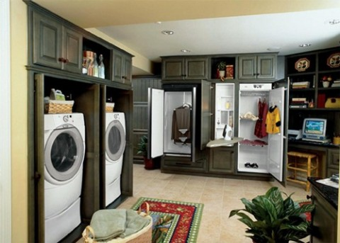 Efficient Laundry Room Designs
