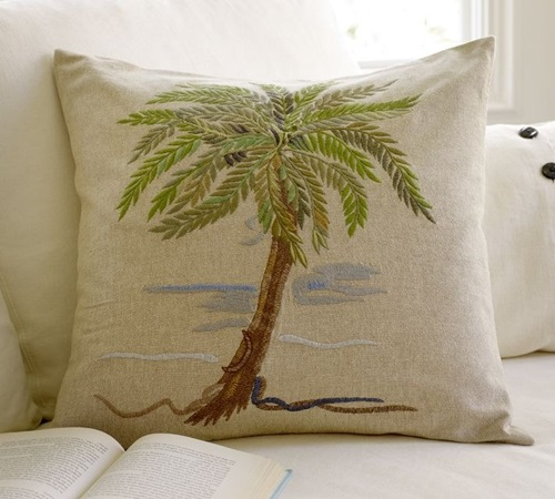 Embroidery and Embroidered Cushions In Modern Homes