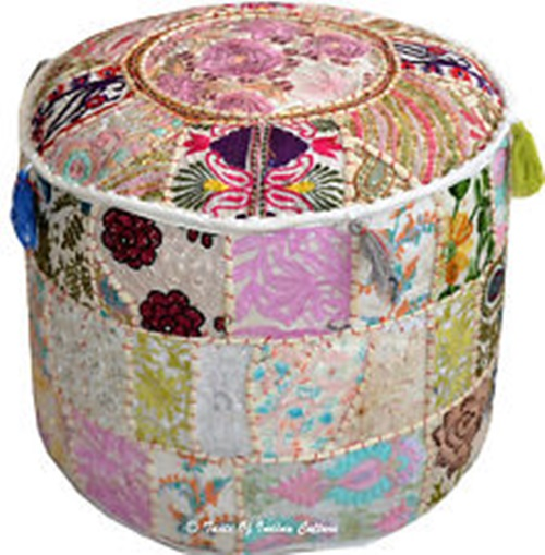Footstools and pouffes in fashion - purpose footstool