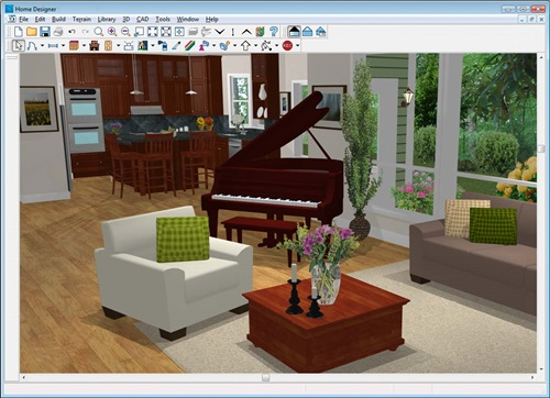 Free Online Virtual Home Designing Programs - 3d Programs - Interior design