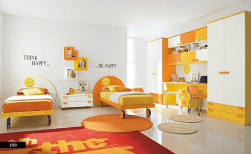 Funny Kids' Bedroom Furniture and Design