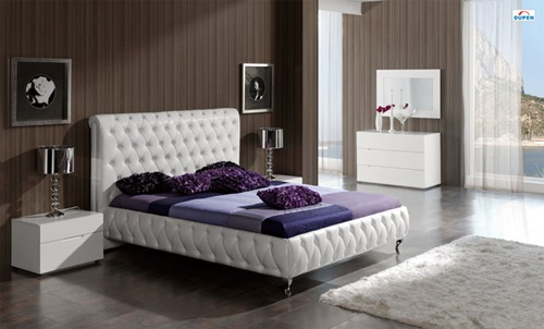 Leather Bed for Bedrooms