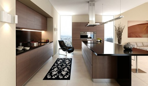 Minimalist Kitchens with Fall Decor Touches