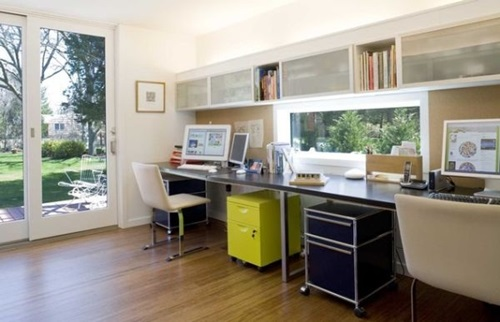 Minimalist home office in a few steps…voila!