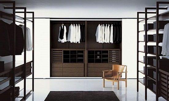Modern Bedroom Closets and Wardrobes