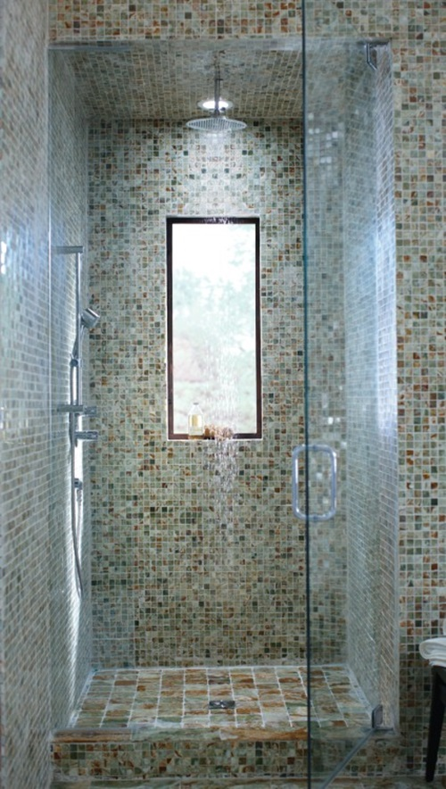 Mosaic Glass Tiles Show off your home decor