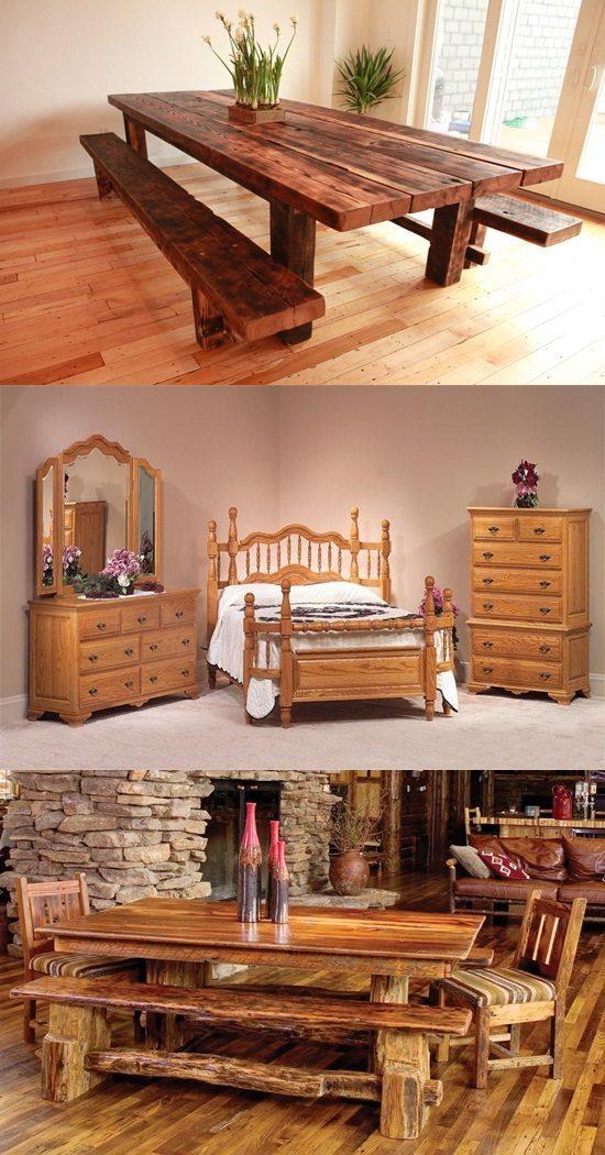Oak Wood in your furniture! !