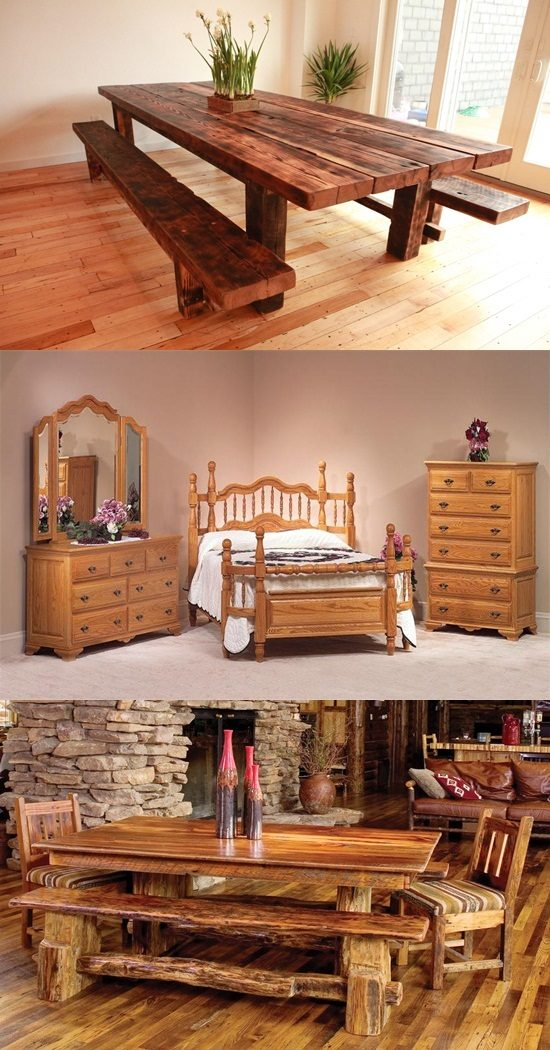 Oak Wood in your furniture! !