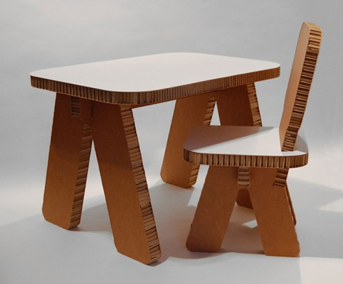 Recyclable Cardboard Furniture