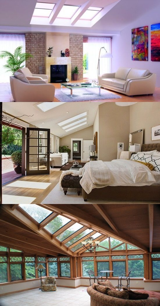 Skylights as Decorations – New Home