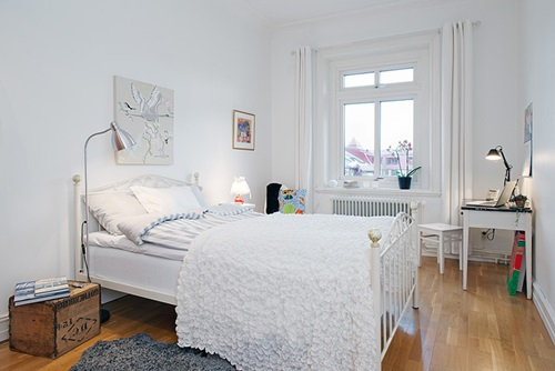 Swedish Bedroom Designs – colors – furniture