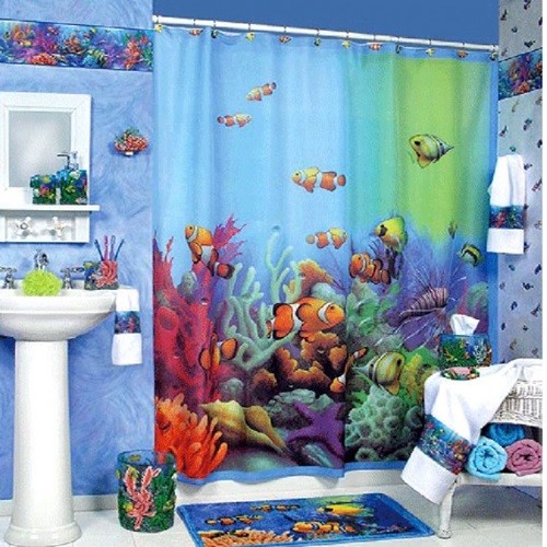 The Different Designs of the Shower Curtains