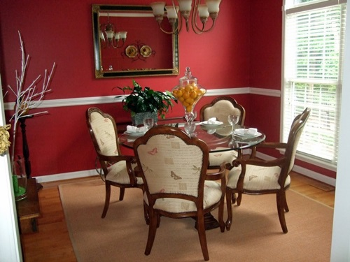 Traditional Dining Room – Color – Furniture – Accessories