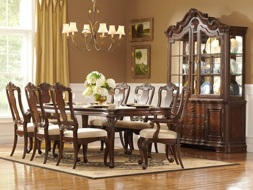 Traditional Dining Room – Color – Furniture – Accessories - Interior ...