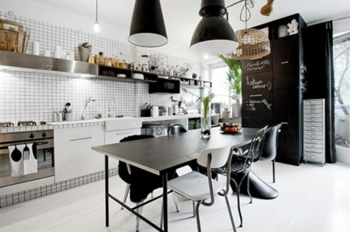 Will you go for the masculine kitchen design !