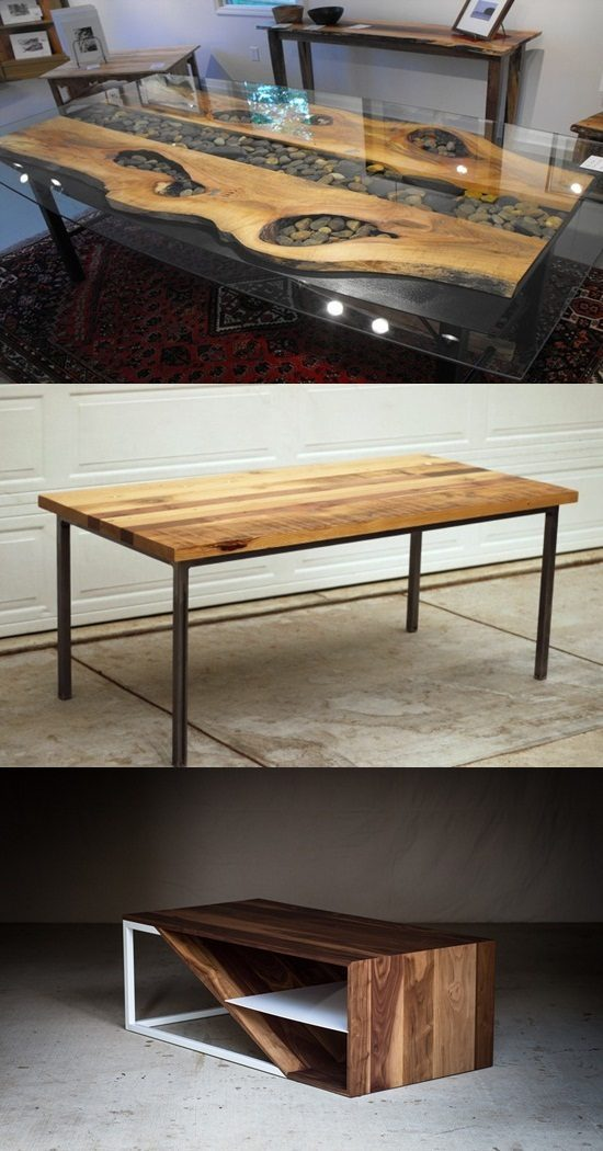 Wood and Steel Modern Furniture