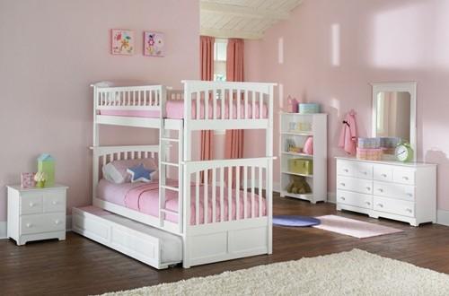 bunk bed princess - twins