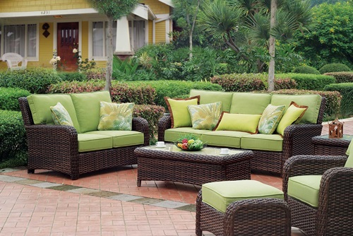 durable patio furniture from wicker and rattan sets