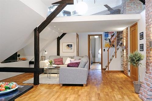 house small attic