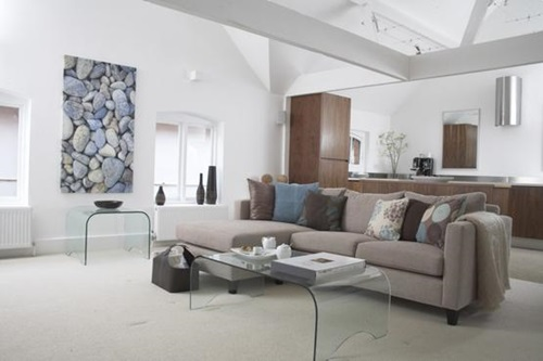 living room space – Thrilling Open-Plan Areas