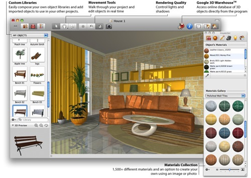 new room - 3D software program