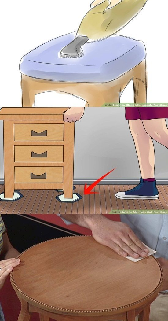 wood furniture – Learn how to take care of your furniture in simplified steps