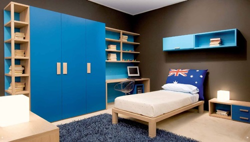 Boys Bedroom Interior Design