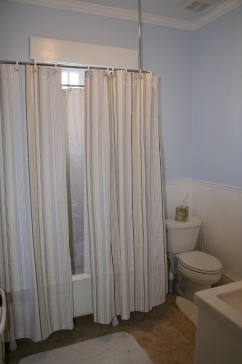 Cottage Bathroom Curtain Ideas Home Decor
