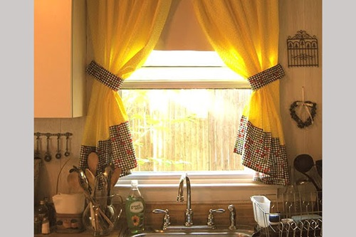 Common Kitchen Design Mistakes Overlooking Fillers And Panels: Cottage Kitchen Curtain Ideas