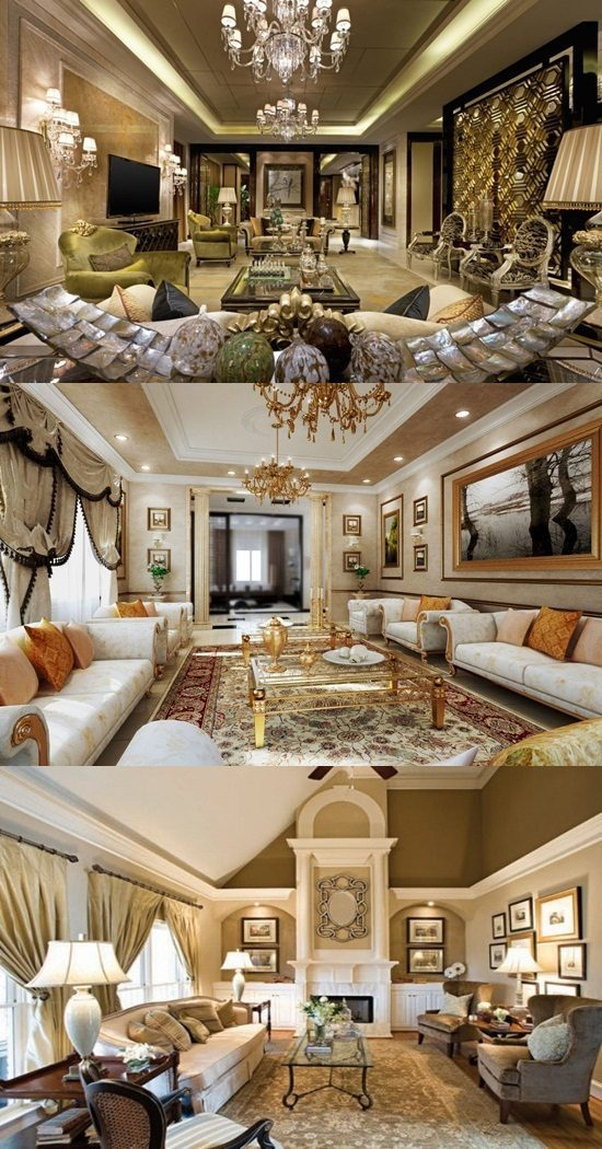 Italian Style Living Room Decor