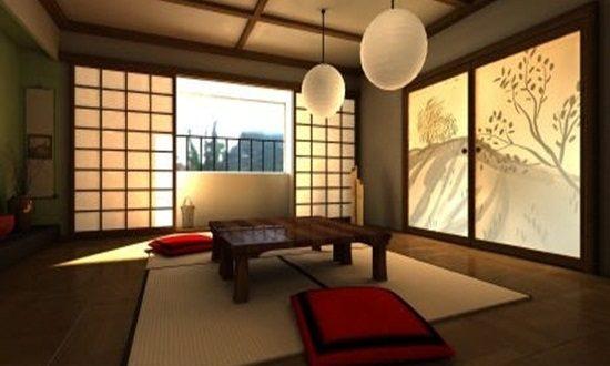 Japanese Dining Room Decoration Interior Design