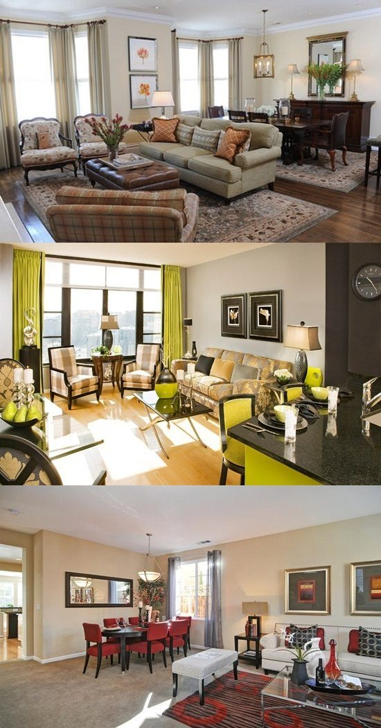 Living/Dining Room Combo – Stylish Decorating Ideas