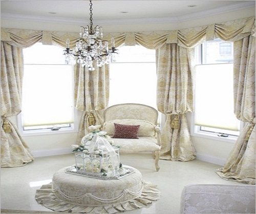 drapery ideas for living room luxurious modern living room curtain design 18911