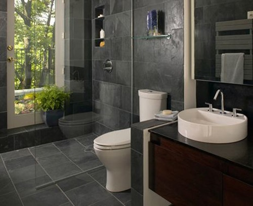 . Master Bathroom Interior Designs   Simple and Luxurious